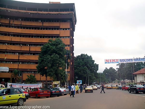 Downtown Yaounde